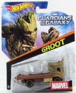 Hot Wheels Marvel Character Cars - Guardians of the Galaxy - Groot